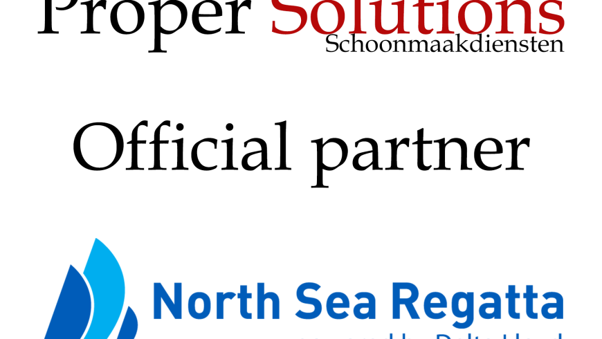 Proper Solutions official partner North Sea Regatta 2016!